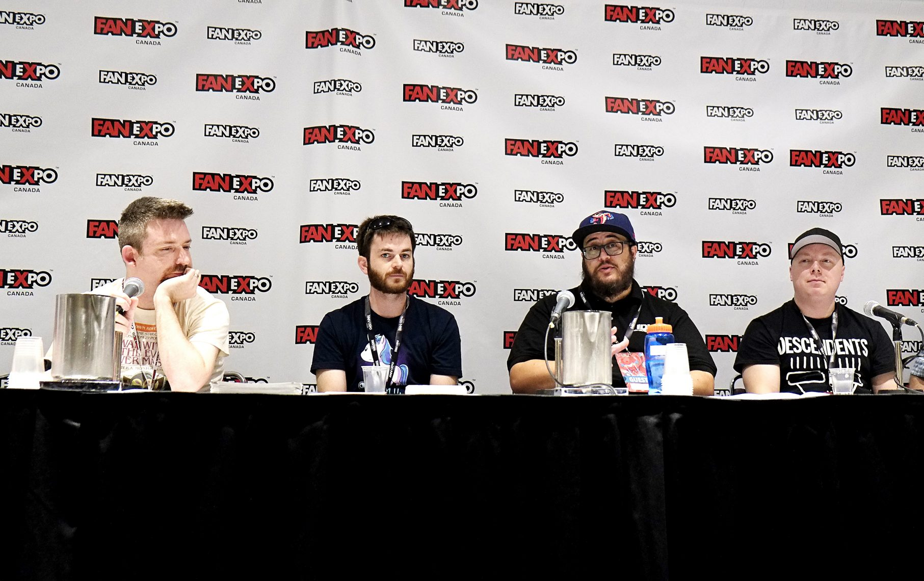 Fan Expo is a large-scale event that's been going for many years in Toronto. It's our equivalent of, say, San Diego Comic Con but scaled pretty down.